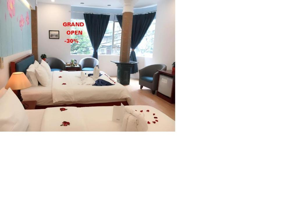 Phòng Deluxe 2 Giường Đơn Nhìn Ra Thành Phố - Nhận Phòng Sớm Lúc 11:00