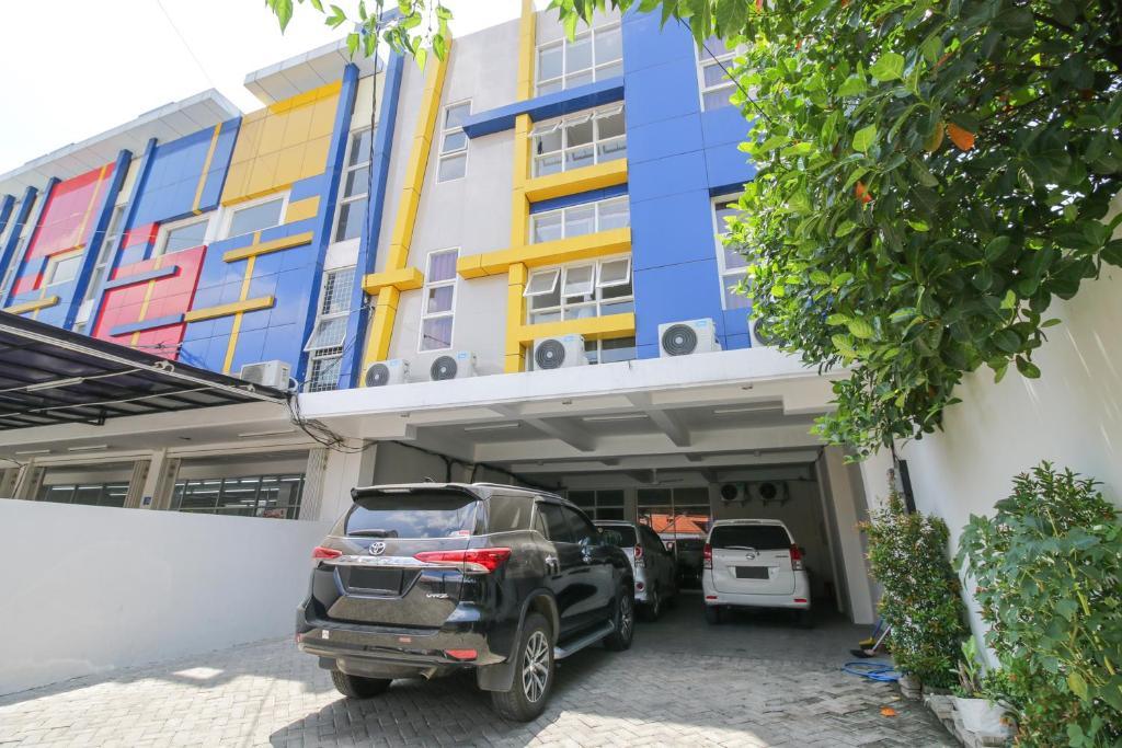 Gedung tempat homestay berlokasi
