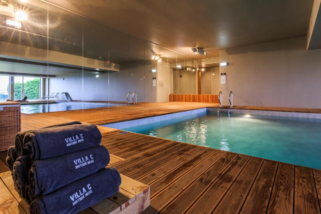 The swimming pool at or near Villa C Boutique Hotel - Design Hotels