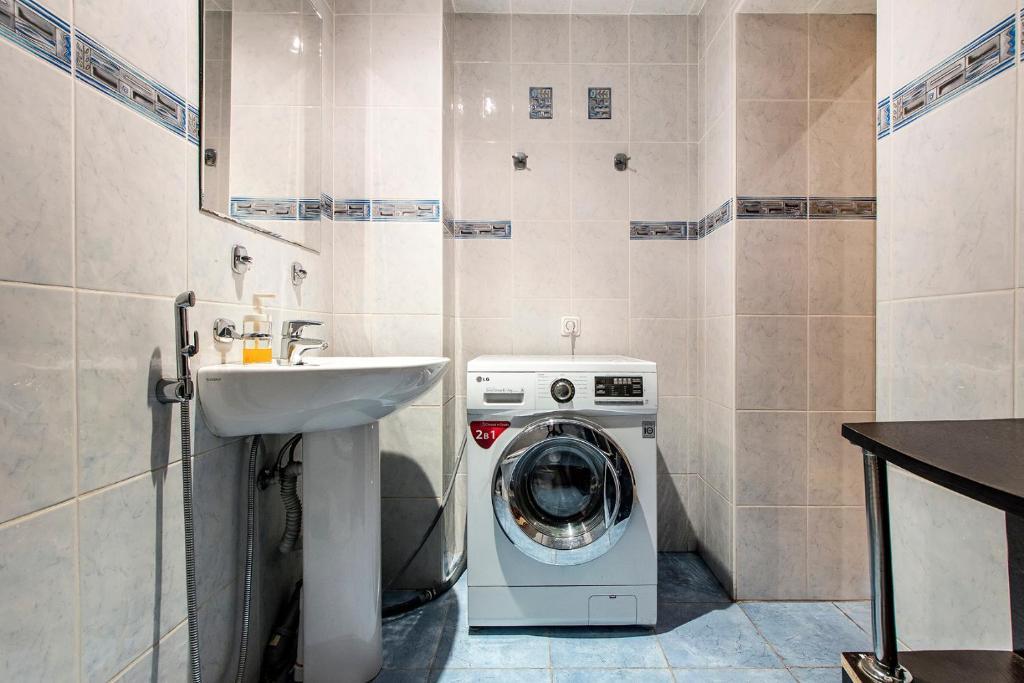 Ванная комната в Хостел Тихая Гавань