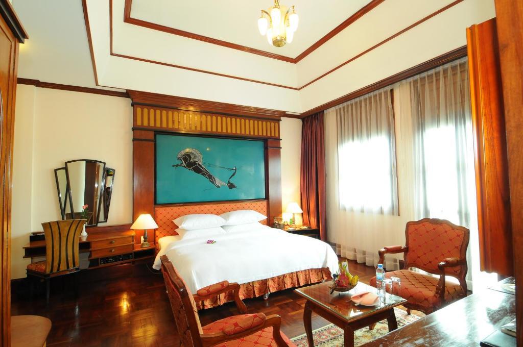 Phòng Colonial Deluxe Đôi hoặc 2 Giường đơn nhìn ra Sông