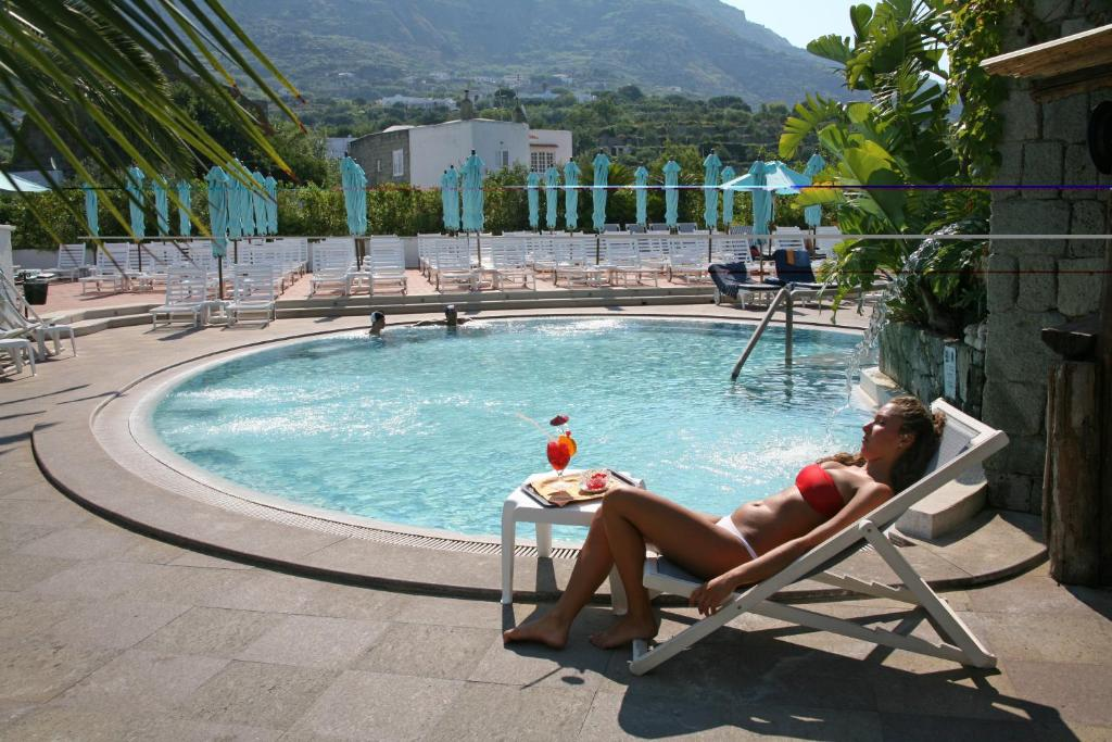 The swimming pool at or near Hotel Parco Maria Terme