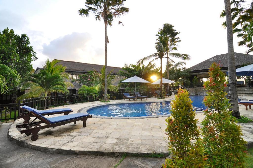 Carte Bali Balangan.Resort Village Aman Gati Balangan Jimbaran Indonesia