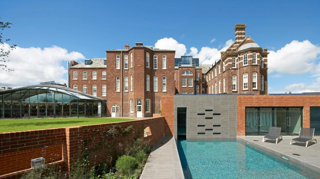 The swimming pool at or close to Hotel du Vin Exeter