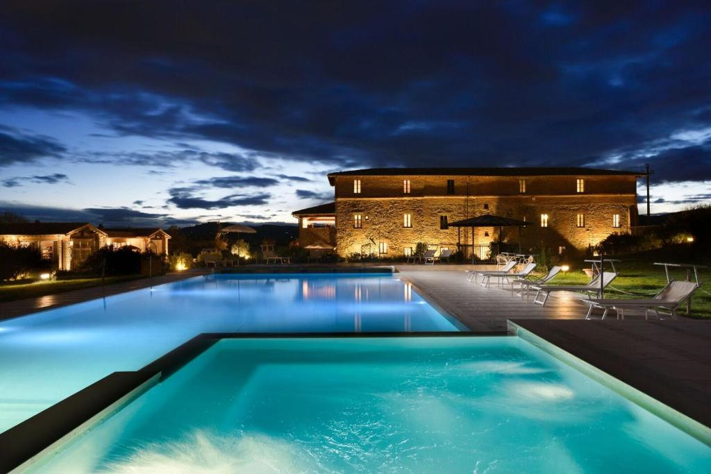 The swimming pool at or near Anna Boccali Resort