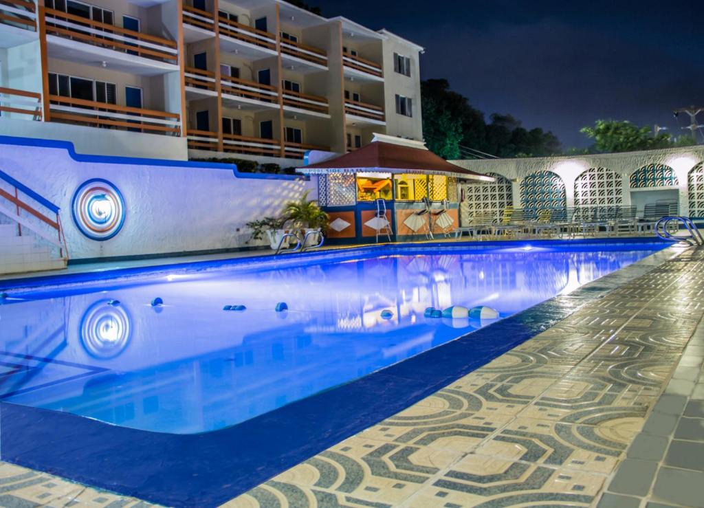 The swimming pool at or near Hotel Montego