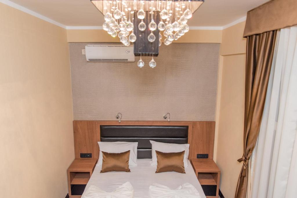 Posteľ alebo postele v izbe v ubytovaní Hotel Crnogorska Kuća