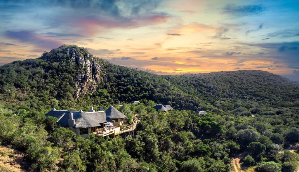 A bird's-eye view of Inzolo Exclusive Game Lodge