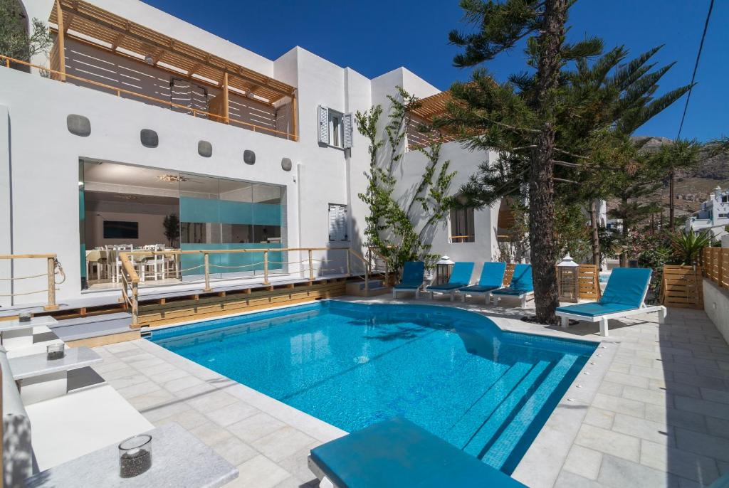 The swimming pool at or near Amaryllis Hotel