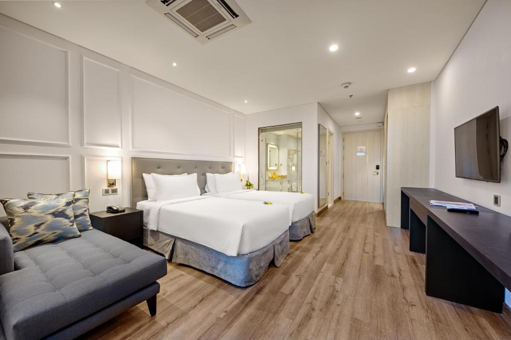Phòng Deluxe 2 Giường Đơn Nhìn Ra Thành Phố Có Ban Công