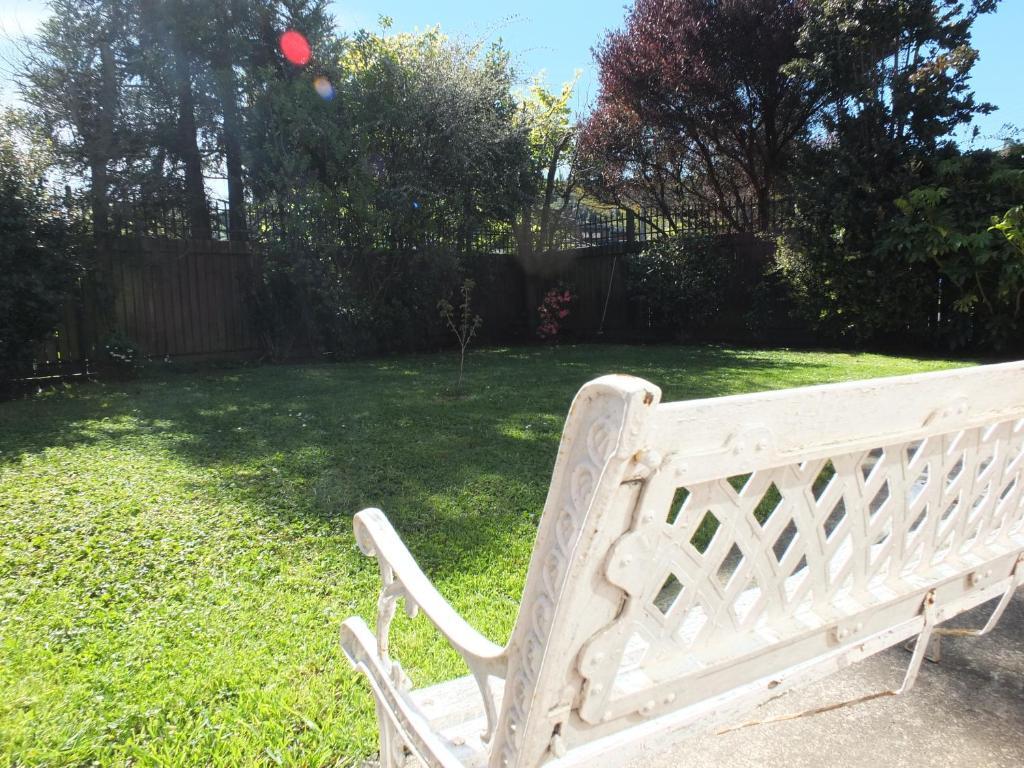 Jardín al aire libre en Residencial Amanda