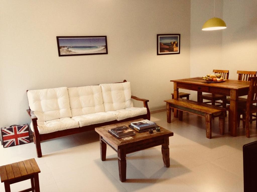 Zona de estar de Apartamento Cabo Frio 3Q