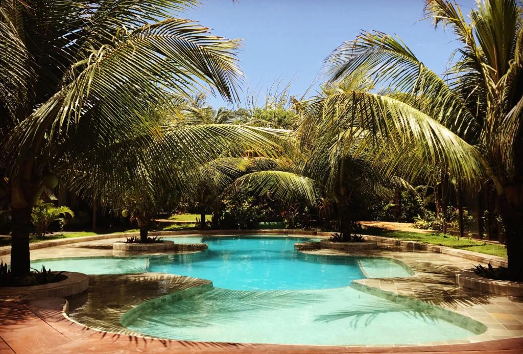 The swimming pool at or near Paua Hotel Boutique