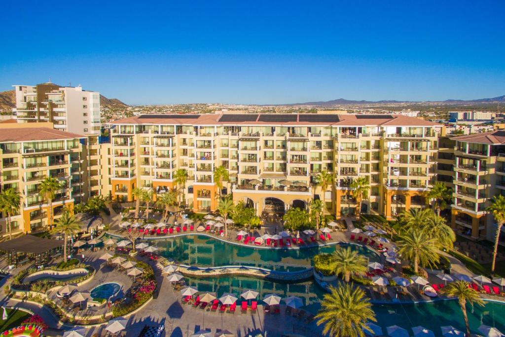 A bird's-eye view of Casa Dorada Los Cabos Resort & Spa