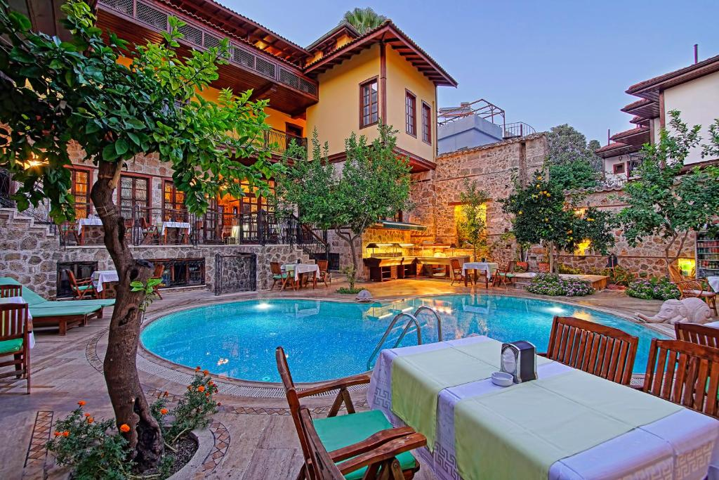 The swimming pool at or near La Paloma Hotel