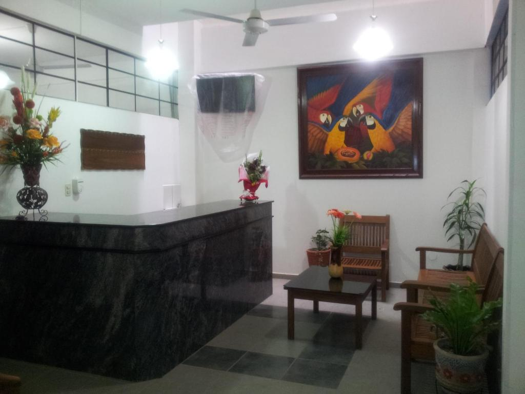 The lobby or reception area at Residencial Ikandire II