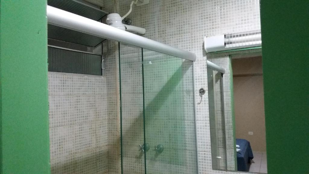 Um banheiro em Flat Htur - Porto De Galinhas