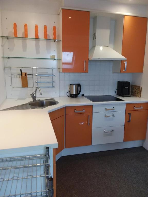 A kitchen or kitchenette at Ruiten Troef