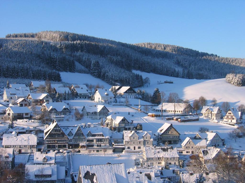 Gasthof Westfeld im Winter