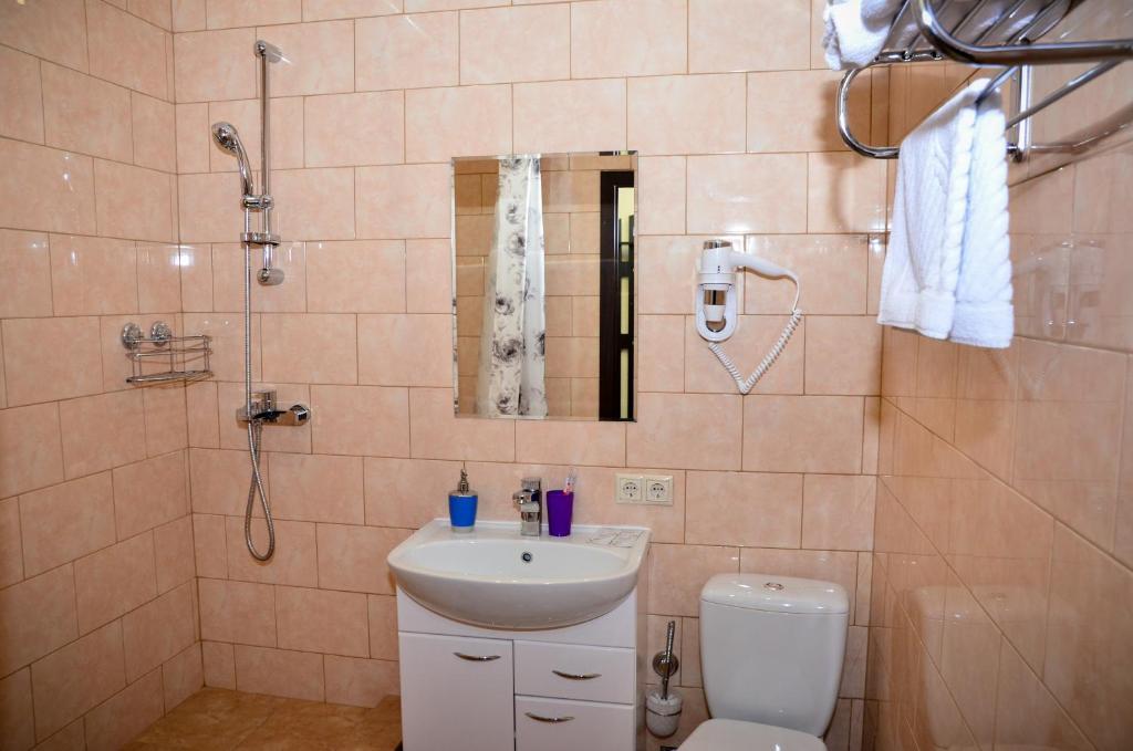 Ванная комната в Отель Александрия-Домодедово
