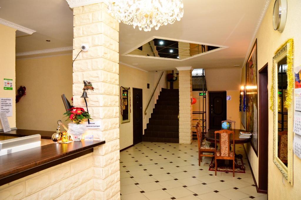 Лобби или стойка регистрации в Отель Александрия-Домодедово