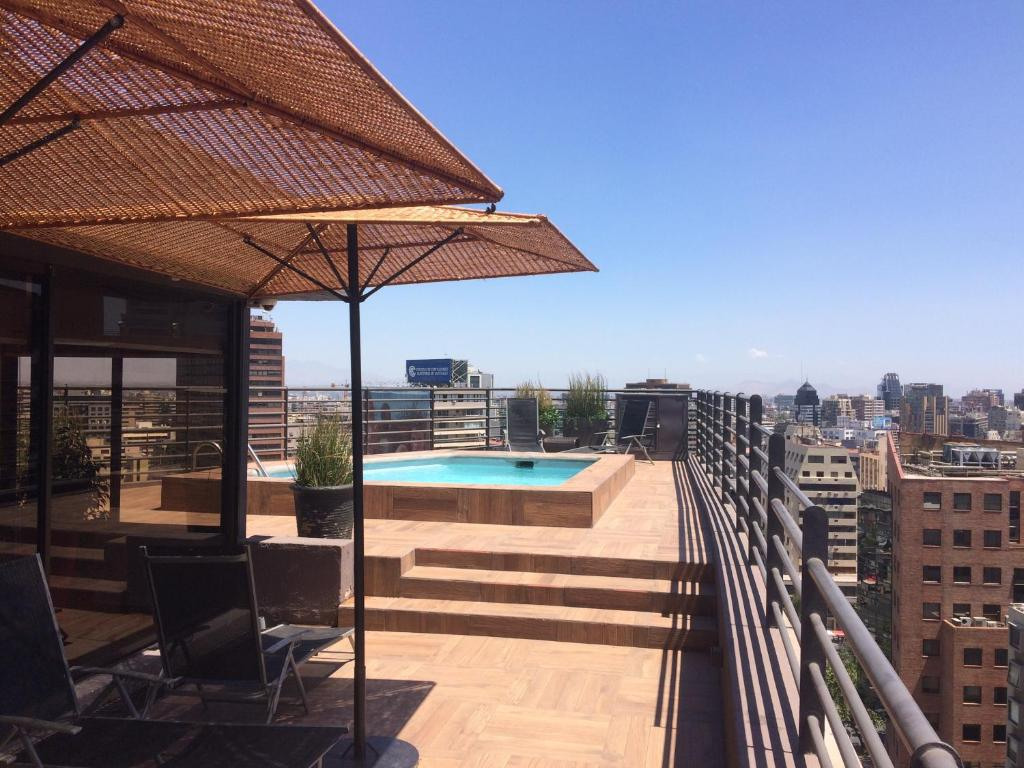 Piscina en o cerca de Aconcagua Apartments