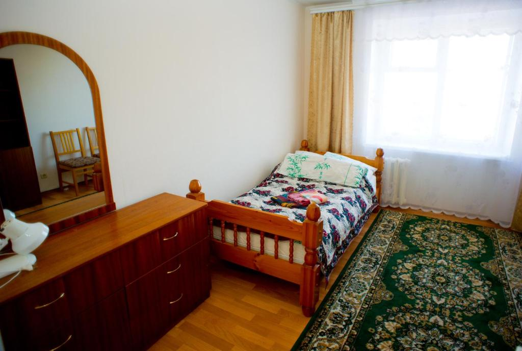 A bed or beds in a room at Hostel Trukhinova 3