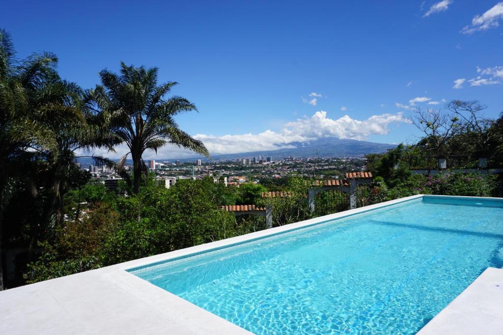 The swimming pool at or near Posada el Quijote