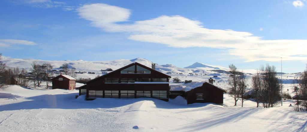 Høvringen Høgfjellshotell during the winter