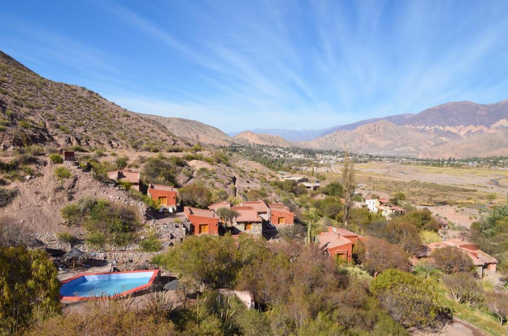 Een luchtfoto van Cerro Chico lo del frances