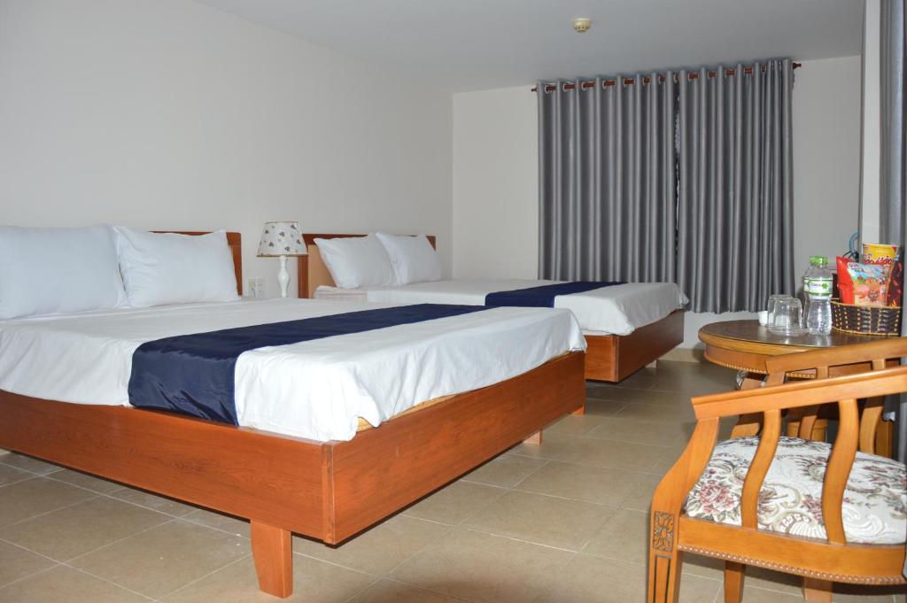 Phòng Deluxe Giường Đôi Nhìn ra Biển