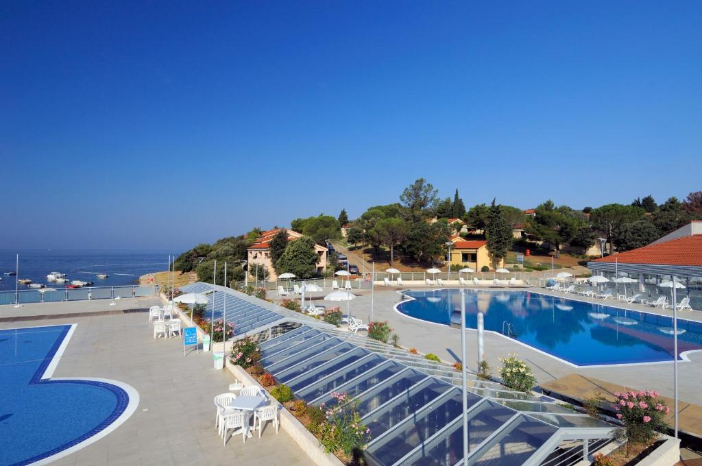 A view of the pool at Petalon Resort or nearby