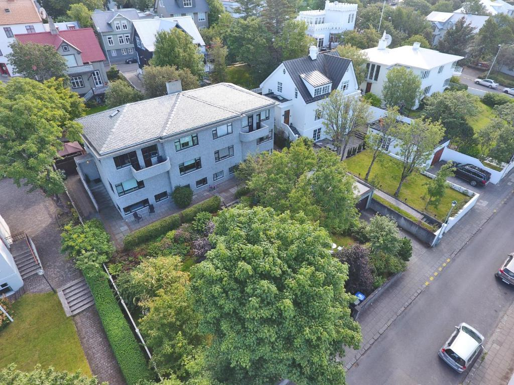 A bird's-eye view of Guesthouse Lena Apartment