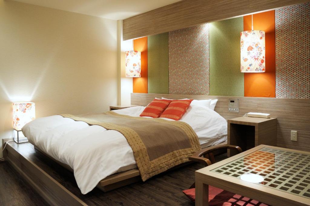 ホテル ケービーシー (レジャーホテル)にあるベッド