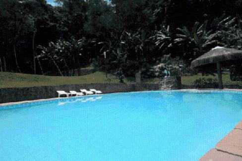 A piscina localizada em Pousada A Marca do Faraó ou nos arredores