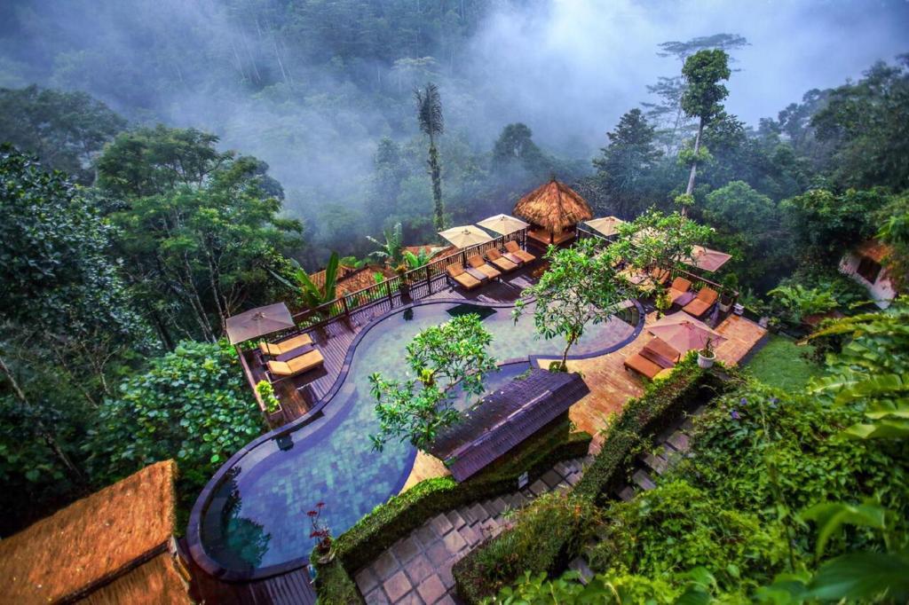 A bird's-eye view of Nandini Jungle Resort & Spa Bali
