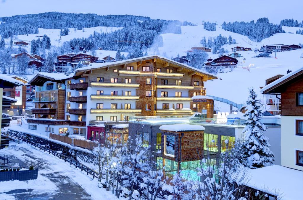 Hotel Kendler in de winter