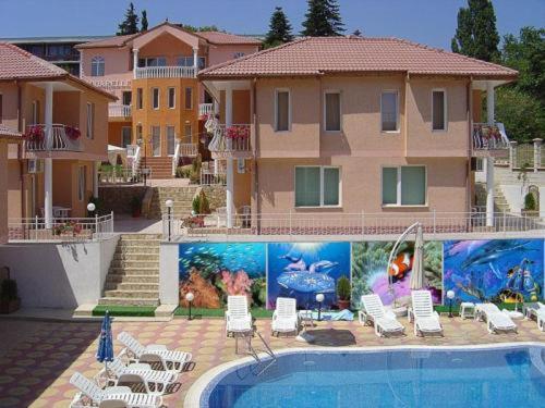 Piscine de l'établissement Aquarelle Hotel ou située à proximité