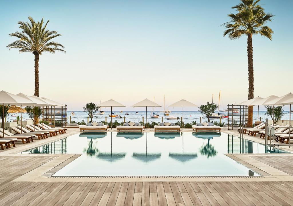 The swimming pool at or near Nobu Hotel Ibiza Bay