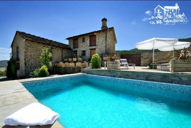 Casa de campo Casa Alaman (España Centenero) - Booking.com