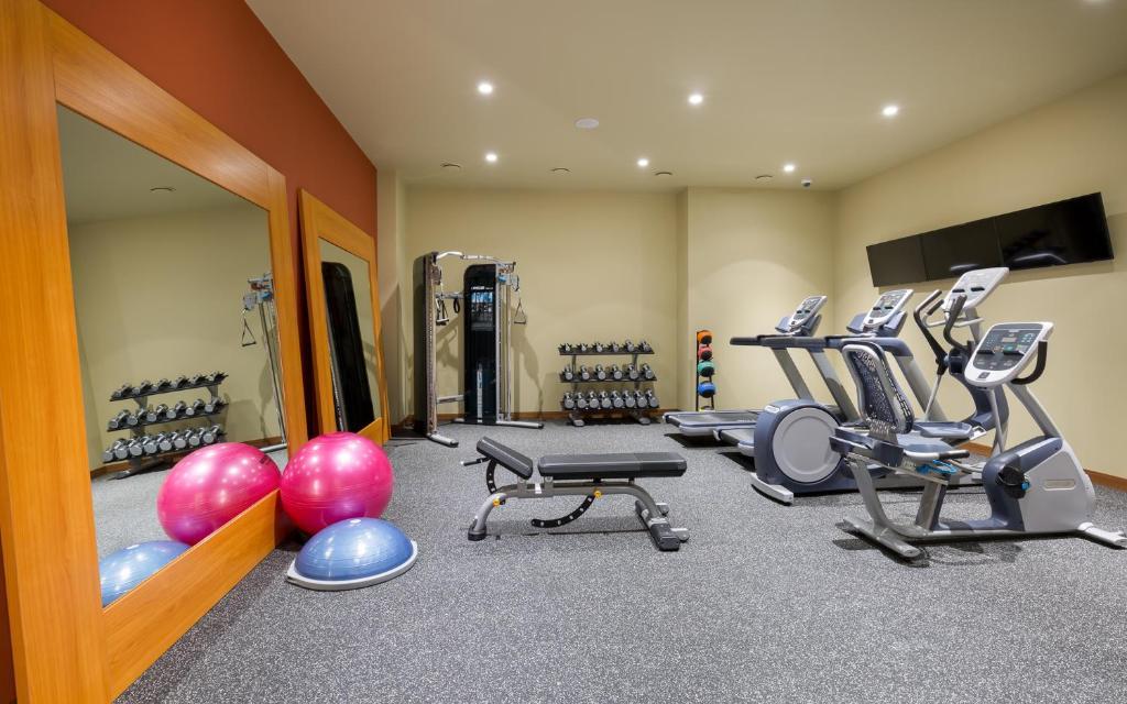Фитнес-центр и/или тренажеры в Хилтон Гарден Инн Оренбург