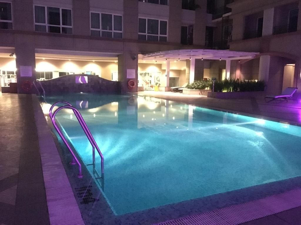 The swimming pool at or near Room with beauty swimming pool