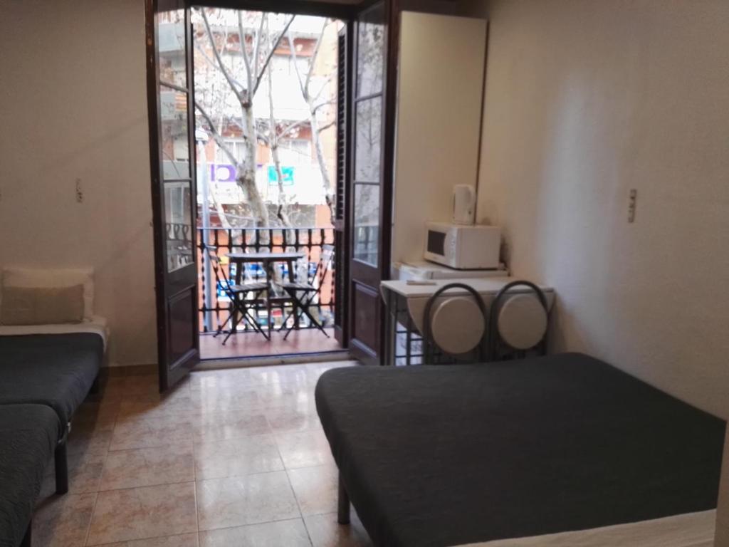 Гостиная зона в Barcelona Rooms 294