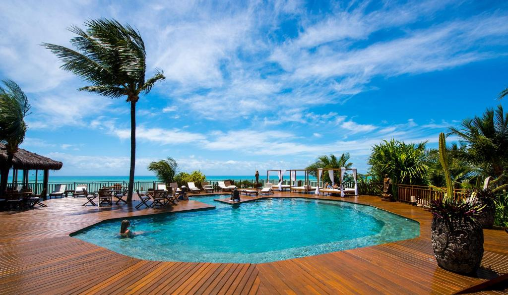 A piscina localizada em Hotel Sombra e Água Fresca ou nos arredores