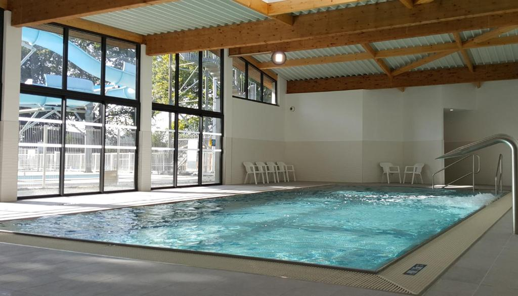 The swimming pool at or near Camping Eden