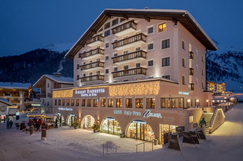 Chalet Silvretta Hotel & Spa during the winter