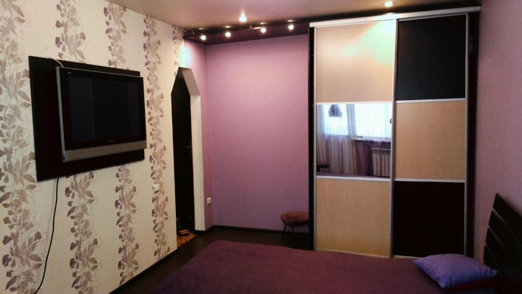 Телевизор и/или развлекательный центр в Apartment on Karbysheva