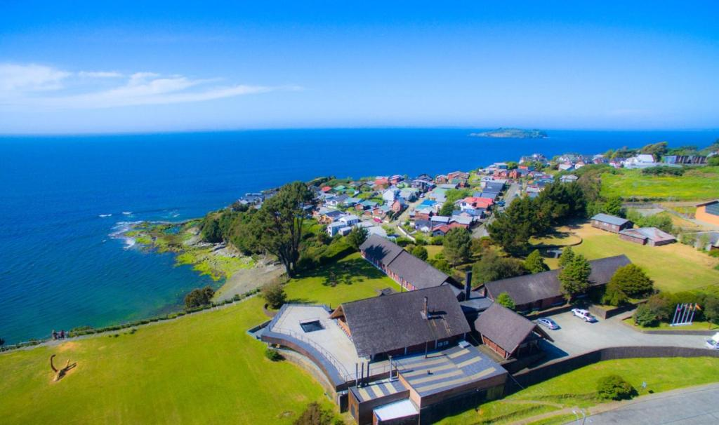 A bird's-eye view of Panamericana Hotel Ancud