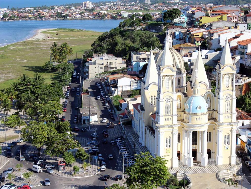 A bird's-eye view of Hotel Britânia