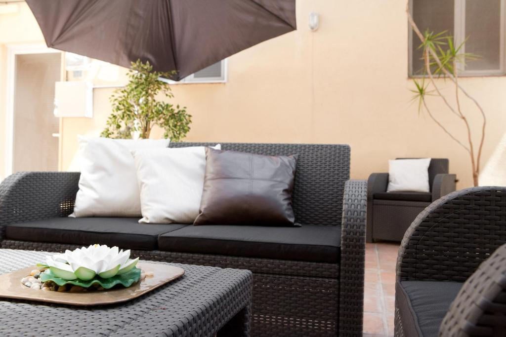 A seating area at Casa Maca Boutique